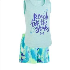 Under Armour Toddler Girls Shirt & Shorts Set